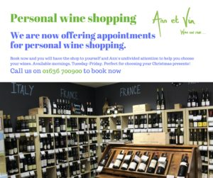 Personal Wine Shopping at Ann et Vin