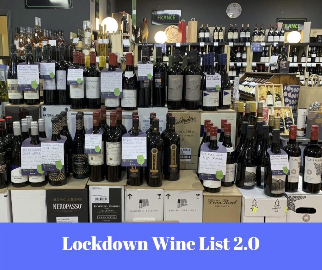 Lockdown Wine List 2.0 from Ann et Vin