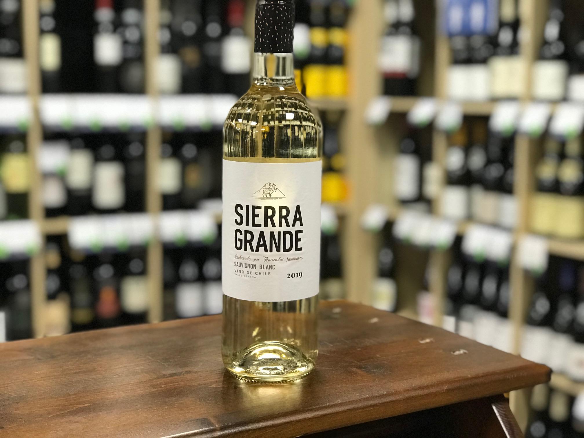 Sierra Grande Sauvignon Blanc 2019